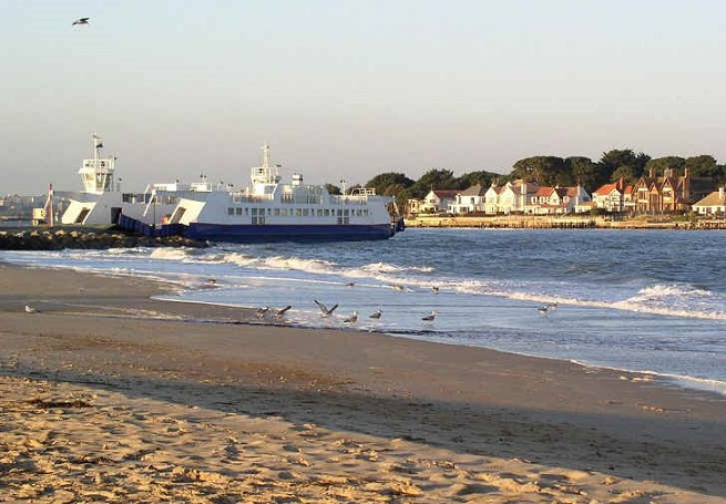 Sandbanks Ferry Poole Dorset