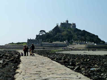Causeway to St Michaels Mount