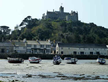 Harbour at St Michaels Mount