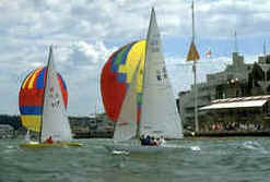 Cowes Isle of Wight Sailing