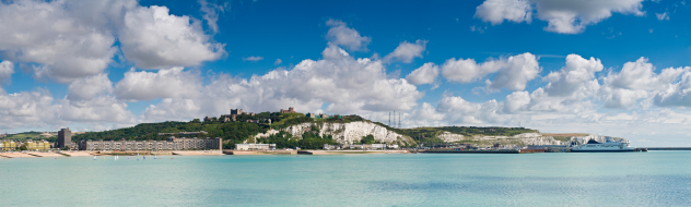 White cliffs of Dover!