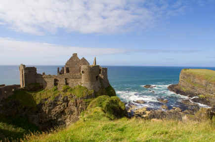 Dunluce Castle County Antrim Northern Ireland