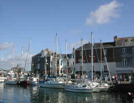 Padstow Boats and Hotels