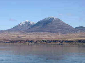 Paps of Jura Scotland