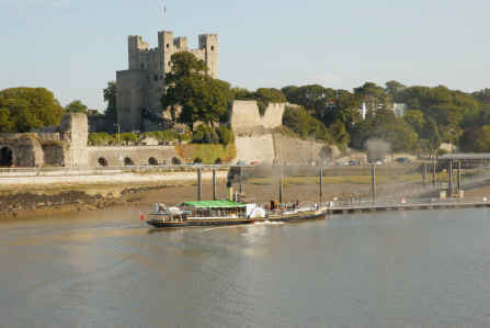 Rochester Castle and River Medway