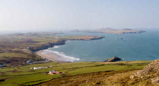 Whitesands Bay near St David's