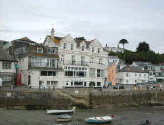 St Mawes Harbour and Hotels