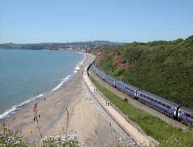 Dawlish Devon Coast