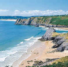 Gower Beaches Wales
